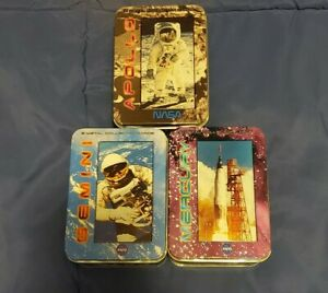 Collectible-NASA-Space-Mission-Trading-Cards-Apollo-Mercury-Gemini