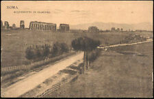 cartolina ROMA acquedotti di claudio