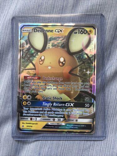 Details about  /Dedenne GX 57//214 Ultra Rare Holo Pokemon Unbroken Bonds