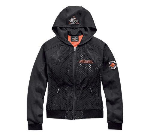 Genuine Harley-Davidson  Damas Chaqueta con capucha ligera Perf  en linea