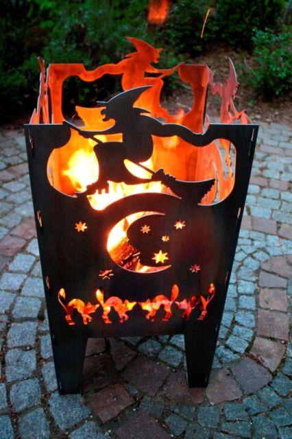 XXL aus Stahl von SvenskaV NEU//OVP Feuersäule Feuerkorb FLAMME Gr