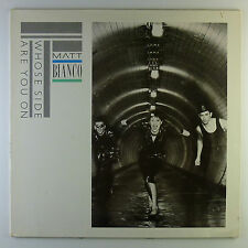 """12"""" LP - Matt Bianco - Whose Side Are You On - L5059C - washed & cleaned"""