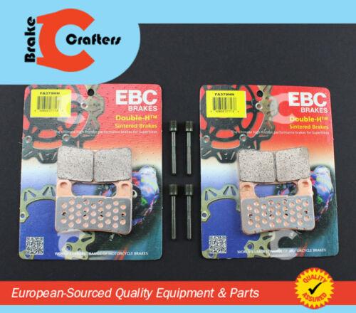2004-2010 SUZUKI GSXR 750 EBC HH RATED FRONT BRAKE PADS NEW BRAKE PAD PINS
