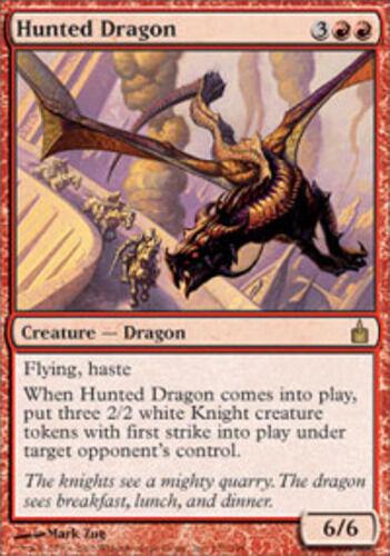 1x Hunted Dragon NM-Mint English Ravnica MTG Magic