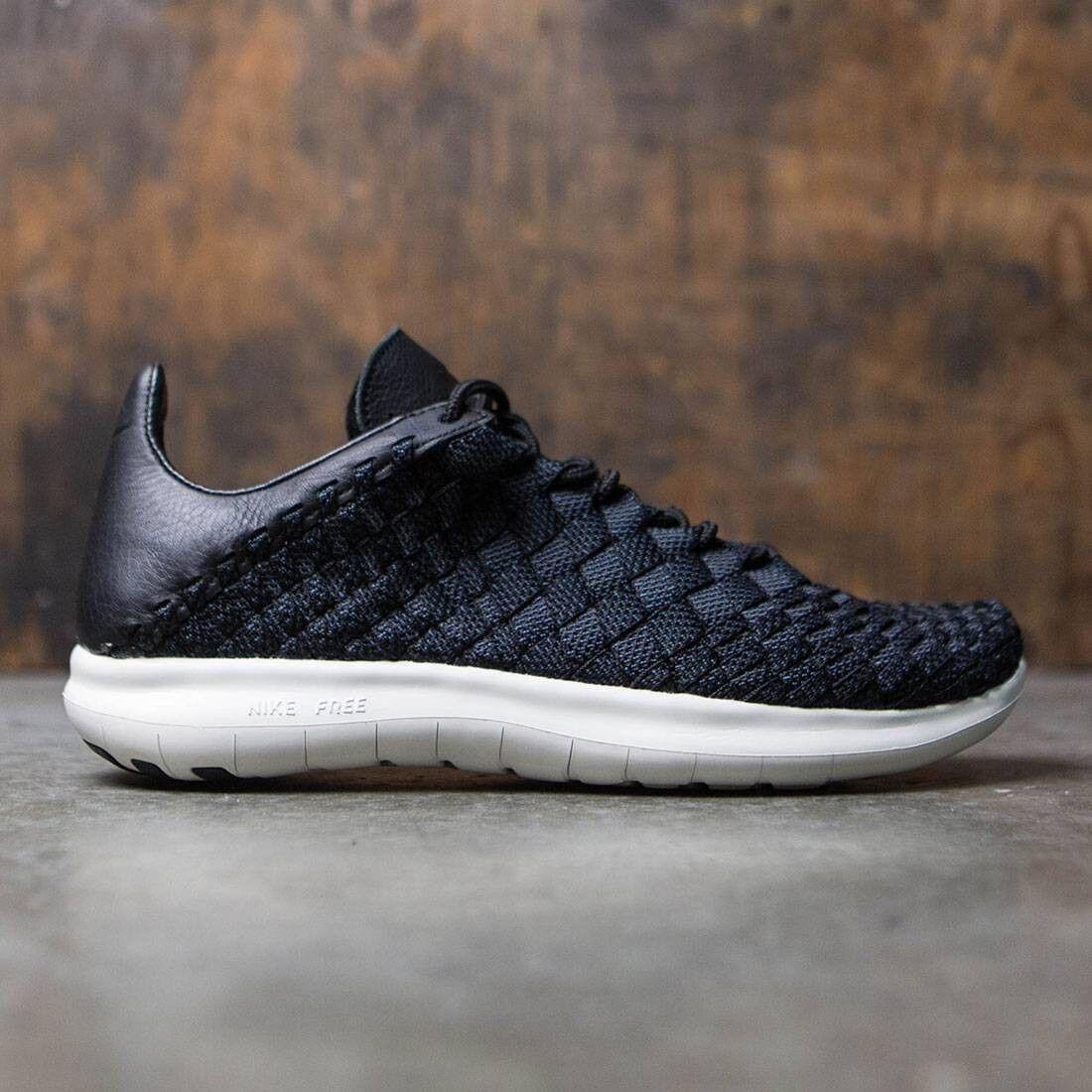 Nike NikeLab Free Inneva Woven Motion Uomo Shoe - Size 12 (BLACK/THUNDER BLUE)