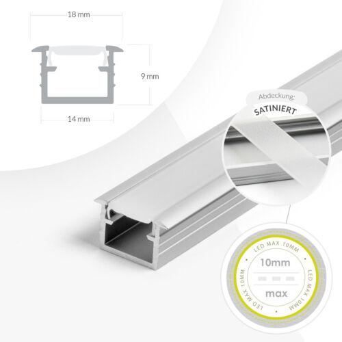 Details about  /Profile for LED Strips 1m Surface Mount Flat Accessories Accessory Surface Profile fil Aluminium data-mtsrclang=en-US href=# onclick=return false; show original title