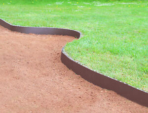 Image Is Loading Smartedge Easy Lawn Edging Brown Border Garden Landscaping