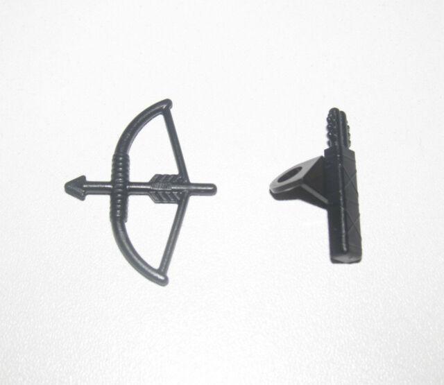 Lego ® Accessoire Minifig Lot Arc & Carquois Bow Arrow Black 4498 + 4499 NEW