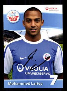 Sport GroßZüGig Mohammed Lartey Autogrammkarte Hansa Rostock 2011-12 Original Signiert+a 132443