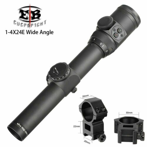 Eb 1-4x24e Ffp Compact Hunting Riflescopes First Focal Plane Tactical Glass