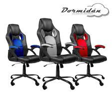 Silla de oficina Racing Gaming, SR-1,soporte metálico, mayor altura del respaldo