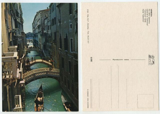 49871 - Venezia - Rio della Canonica - Venedig - alte Ansichtskarte