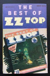 ZZ-TOP-039-THE-BEST-OF-ZZ-TOP-039-Cassette-Tape-Album