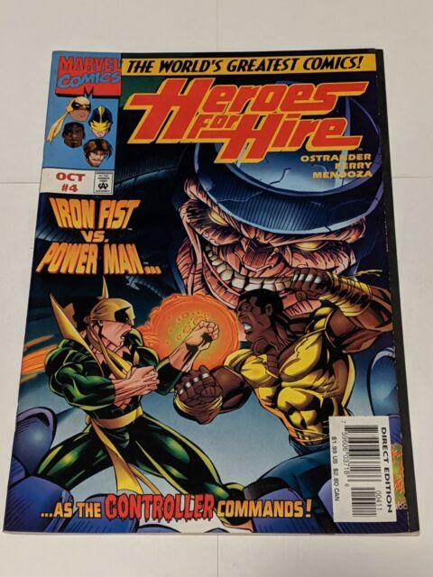 Heroes For Hire #4 October 1997 Marvel Comics Ostrander Ferry Mendoza