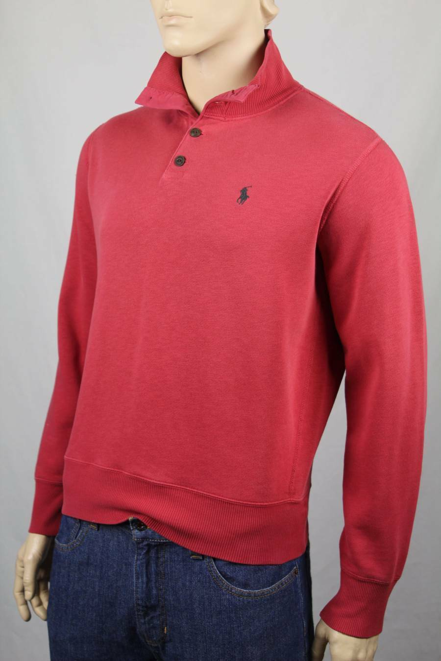 Polo Ralph Lauren ROT 1/2 Half Button Sweater Grün Blau Pony NWT