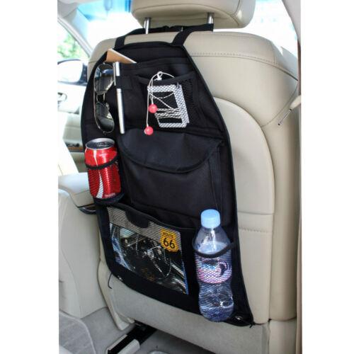 Car Rear Back Seat Kids Organiser Tidy Headrest Pocket Storage Travel Bag