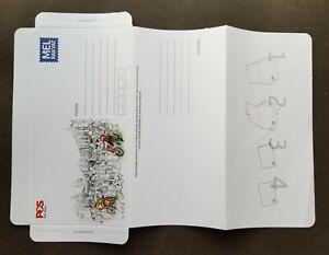 [SJ] Malaysia World Post Day Mel Rakyat 2020 Postman (domestic aerogramme) MNH