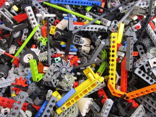 clean 1//2KG LEGO TECHNIC 500g *STARTER SET* BRICKS BEAMS PINS AXLES WHEELS COGS