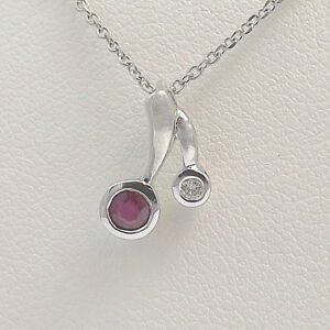 14k-White-Gold-1-3-ctw-Ruby-Diamond-July-Birthstone-Cherry-Pendant-Necklace-19-034