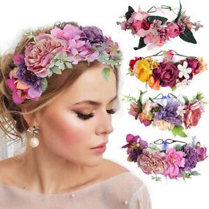 2020-Ladies-Flower-Crown-Hairband-Bridal-Wedding-Beach-Headband-Beach-Wreath