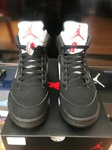 2016 V 5 Negro Hombres 845035 Metallic 7 Jordan 003 Air Silver 5 Nike Sz 4534042877420 Og qp8ATx