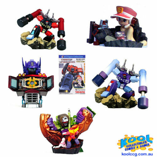 Transformers Convoy KT cifra collezione Full Lot 5 Gashapon