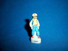 ALADDIN CARTOON Set of 8 Mini Figurines French Porcelain FEVES Epiphany Figures