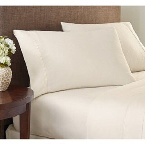 Bed Valance//Bed Skirt Ivory Solid All Uk Sizes 1000 Thread Count Egyptian Cotton