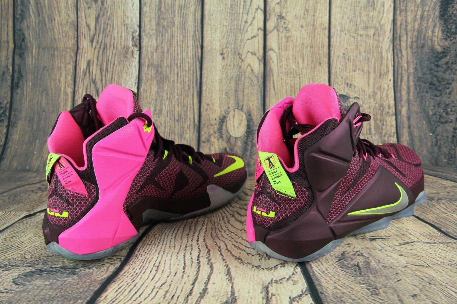 Nike Nike Nike Lebron 12 XII DOUBLE HELIX Mens Basketball shoes 684593-607 Size 10.5 NEW dccb08