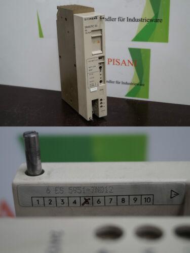 Siemens Simatic s5 6es5 951-7nd12