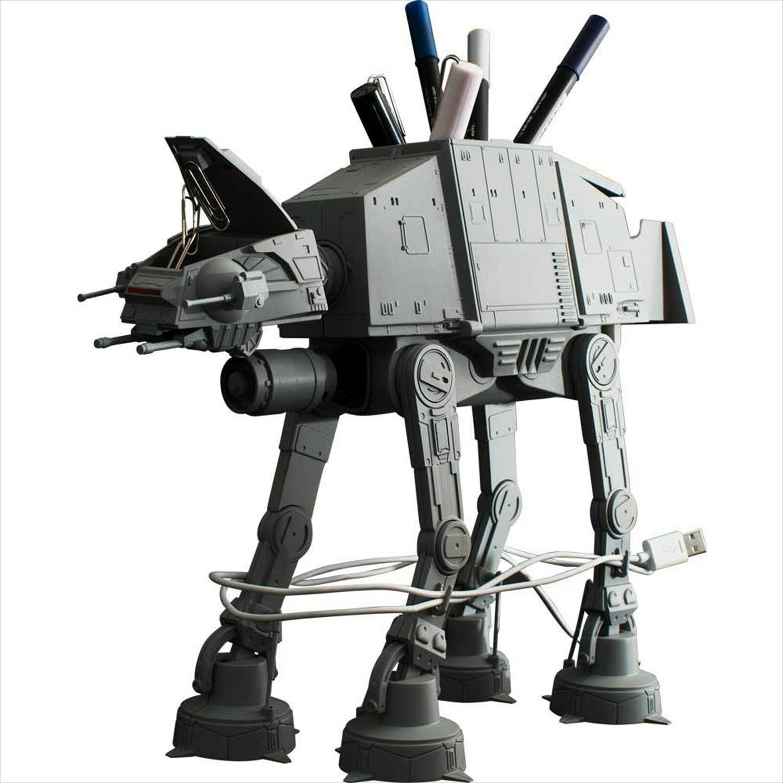 Star Wars AT-AT Multi Stand Figure Sun-Star Stationary Japan NEW