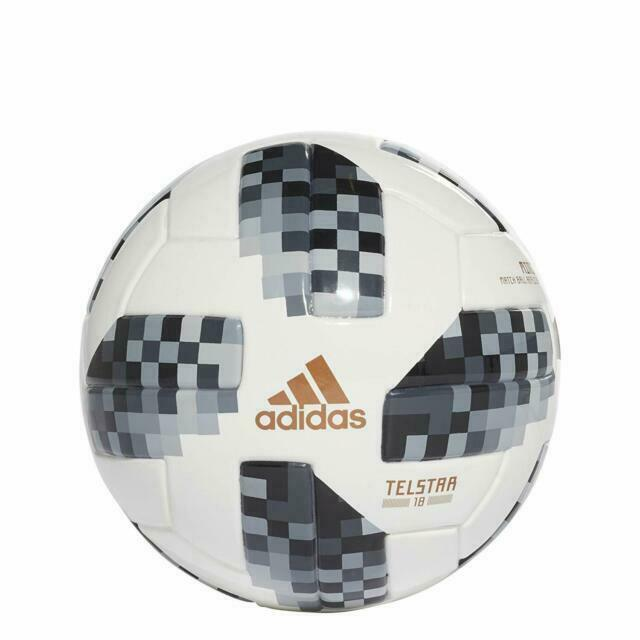 Manga clima tarifa  adidas Telstar World Cup Russia 2018 Football Soccer Mini Ball Size 1  CE8139 for sale online | eBay