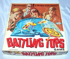 Vintage 1968 Family Game Battling Tops Ideal No 2340 8 Canada Choose Your Part Ebay