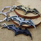 Hot Super Hero Dark Knight Batman Bat Metal Ring Keychain Pendant Key Chain V