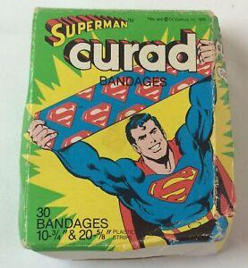 1978-SUPERMAN-Curad-bandages-still-has-26-of-30