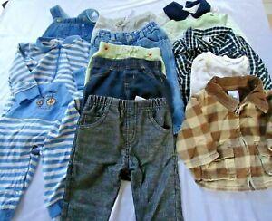 Baby Boy Clothing 13 Piece Lot Jeans Shirts Gymboree Fao Gap Carter S 0 9 Months Ebay