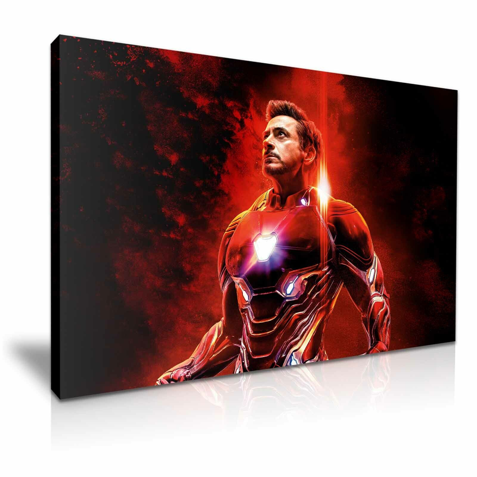 Avengers Issue Iron Man Toile  Plus Taille