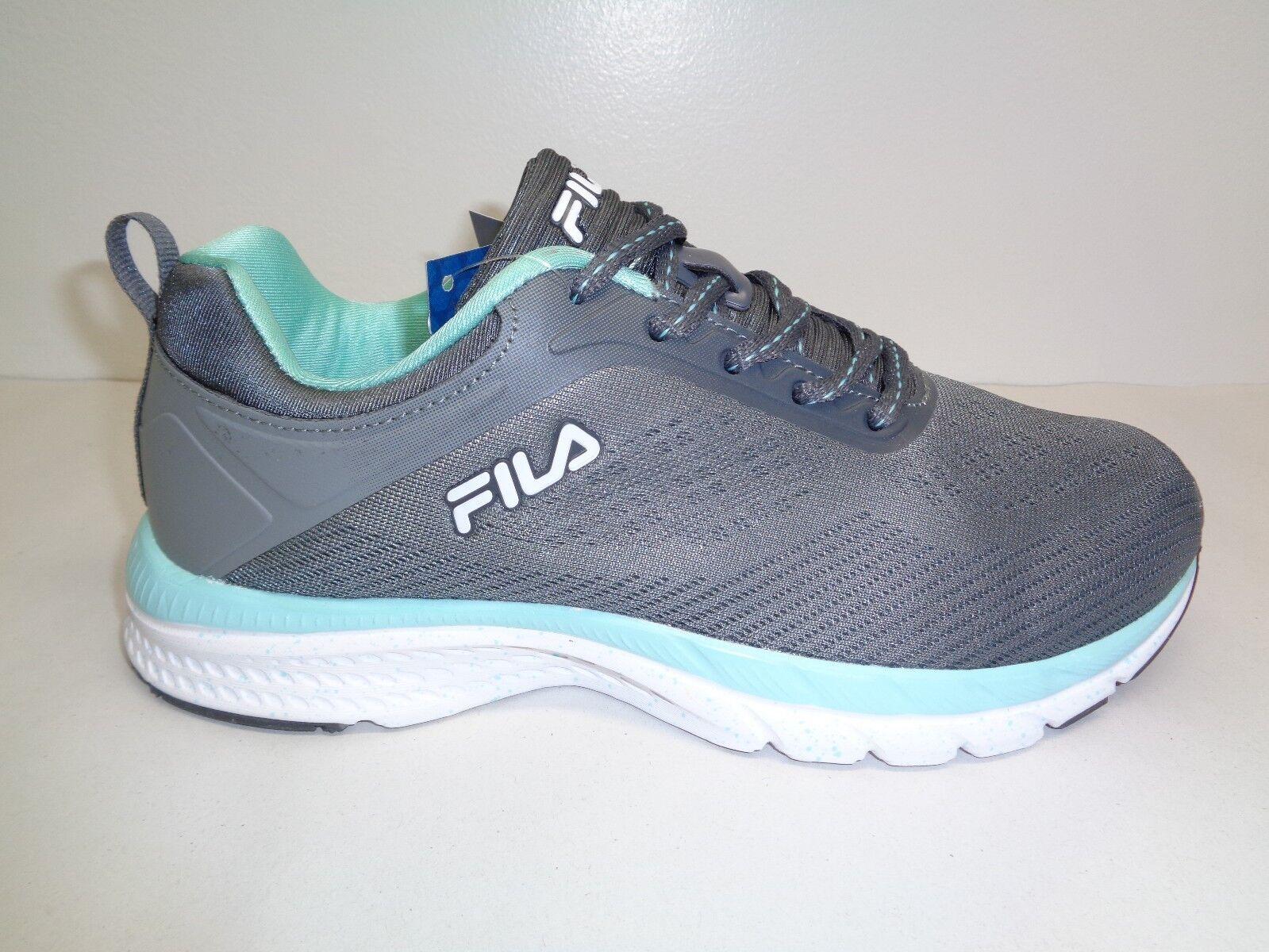 Fila Größe 8 MEMORY OUTREACH Grau Running Athletic Sneakers NEU Damenschuhe Schuhes