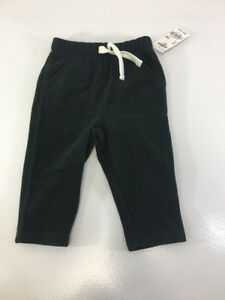 031b71c12 OSHKOSH B'GOSH BABY BOY MVP FLEECE PANT WASHED BLACK 12M NWT ...