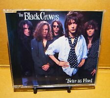 THE BLACK CROWES -TWICE AS HARD - CD - JAPAN 1991 with Obi