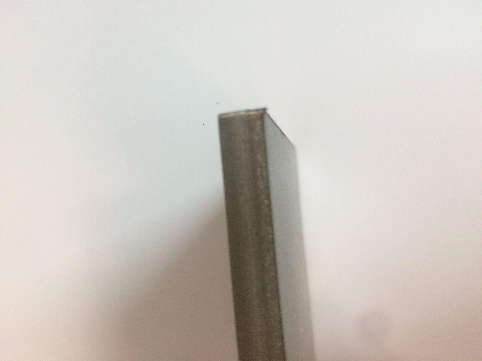 "304SS 1//8/"" Stainless Steel Plate 1//8/"" x 1/"" x 6/"" 11gauge 11ga"