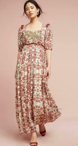 NEW Anthropologie Sidella Maxi Dress by Bhanuni by Jyoti  Size 6-8-12-16  $268