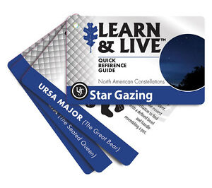 Star Gazing Cards North America Ust Pocket Astronomy Constellation Guide