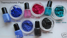 25g Thermo Color Changing Finger Nail Polish Thermochromic Pigment at 84F/30C