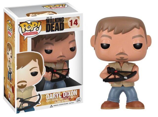 The Walking Dead 14 Daryl Dixon Funko Pop! Television Vinyl Figure Brand New