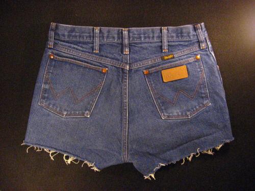Jean Cutoff Vintage hot broek gemeten getailleerde hoog Wrangler pants 31 W afgesneden nfwxgEFBU