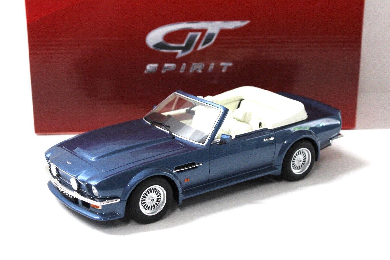 1 18 GT Spirit Aston Martin V8 Vantage Volante Blau NEW bei PREMIUM-ModelllAutos