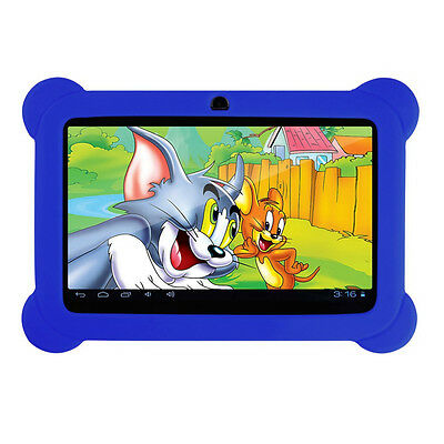 """NEW 8GB 7""""INCH KIDS ANDROID TABLET PC QUAD CORE 4.4 WIFI UK KIDS CHILD CHILDREN"""