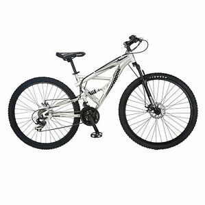 Mongoose-Impasse-FS-Full-Susp-Mens-Silver-R2780-Cycles-NEW
