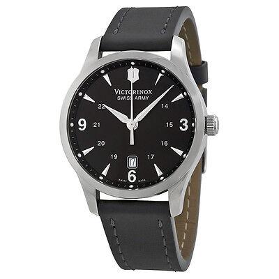 Victorinox Swiss Army Alliance Black Dial Black Strap Mens Watch 241474
